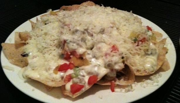 Romano's Macaroni Grill Nachos Napoli. Photo by Lawsome