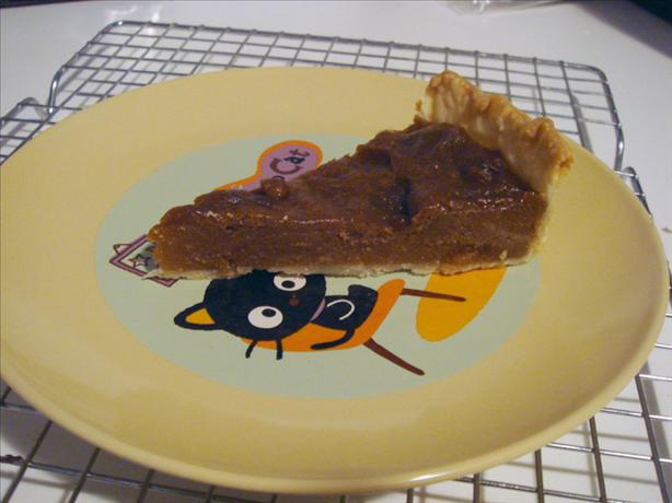 Canadian Brown Sugar Pie. Photo by Xanthia