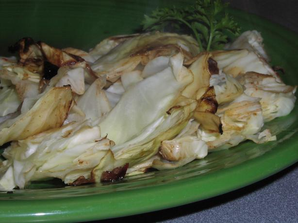 Grilled Cabbage. Photo by TeresaS