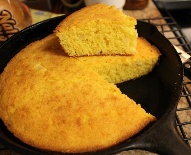 No-Flour Cornbread. Photo by Chef #178393