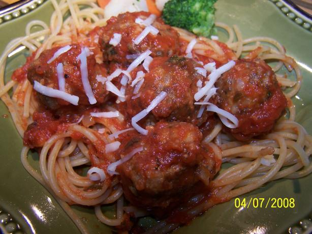 My Sunday Meatballs. Photo by **Tinkerbell**
