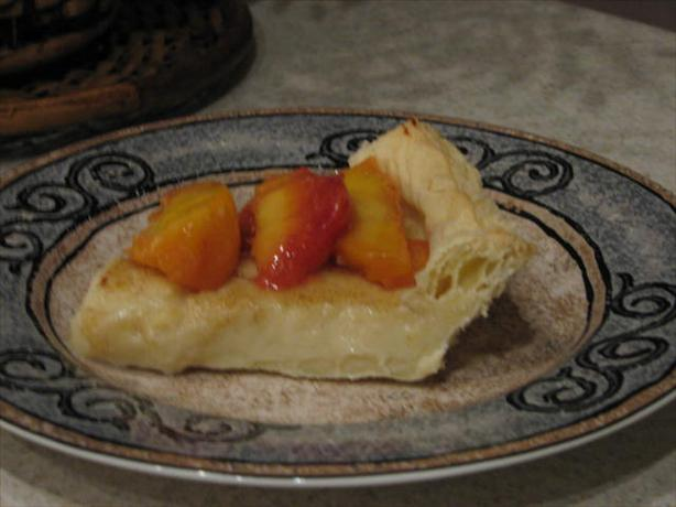 South African Melktert or Milk Tart (Custard Pie). Photo by Galley Wench