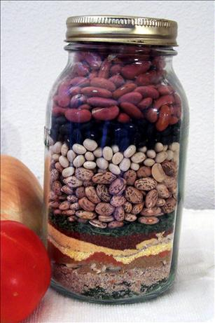 Painted Desert Chili Mix in a Jar. Photo by PaulaG