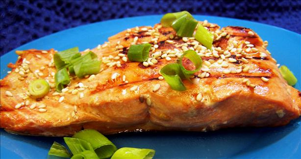 Sesame Salmon. Photo by PaulaG