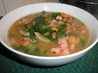 Black Eyed Pea Soup With Ham and Greens. Recipe by JanetB-KY