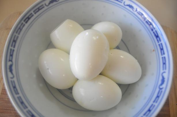 Martha Stewart's Hard Boiled Eggs 101. Photo by I'mPat