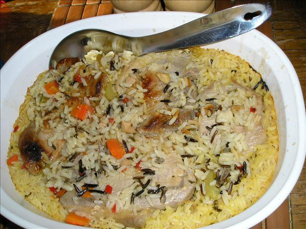 Pork Chop Casserole. Photo by Swan Valley Tammi