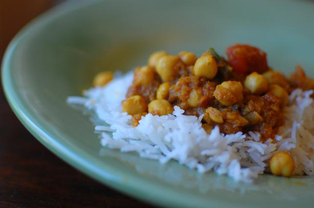 Channa Masala. Photo by run for your life