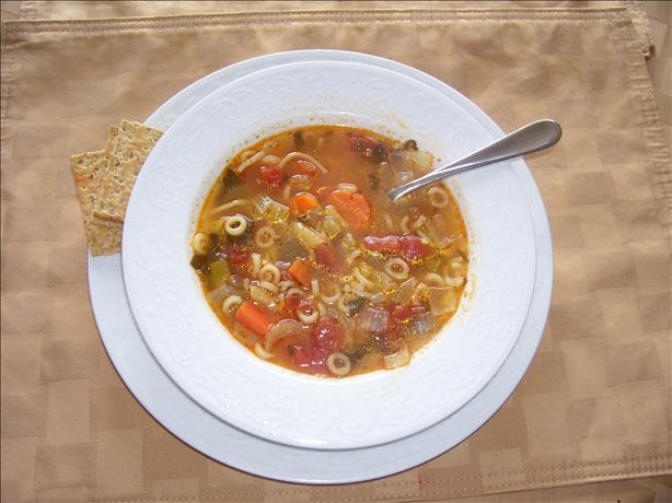 Hearty Root Veggie Soup. Photo by Sage