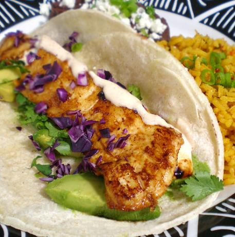 Baja Chipotle Fish Tacos. Photo by Sandi (From CA)