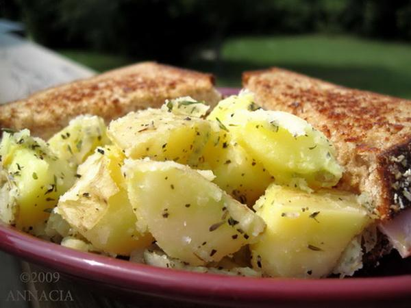 Herbed Potato Salad. Photo by Annacia
