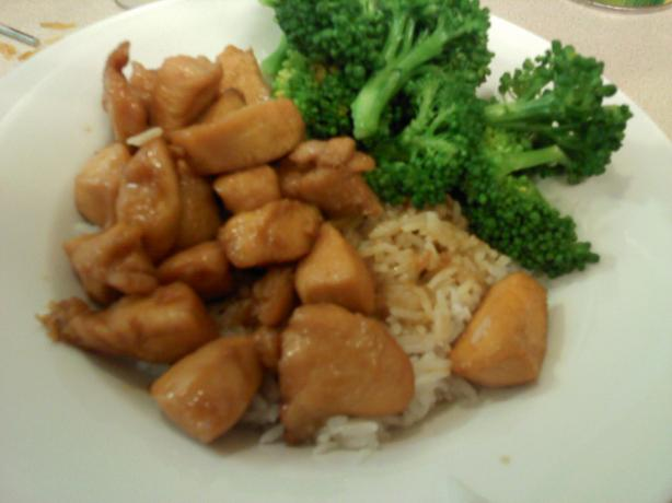 Chicken and Teriyaki  Sauce. Photo by gela383