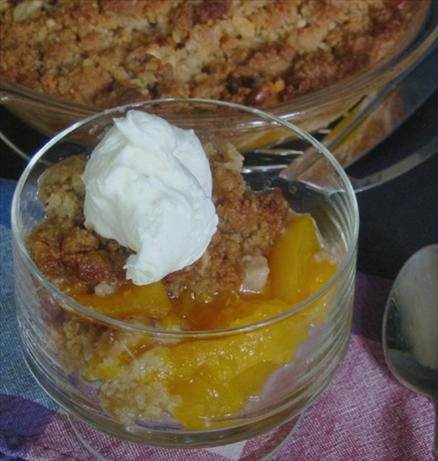 Apricot Crisp. Photo by Caroline Cooks