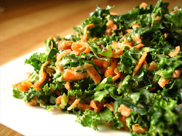 Lori's Kale Slaw. Photo by LUv 2 BaKE