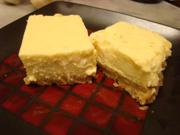 Limoncello Liqueur  Plus Cheesecake Squares. Photo by pattikay in L.A.