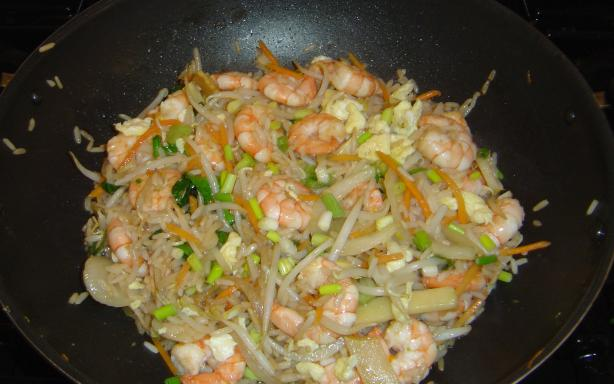Hot & Spicy Chicken (Shrimp) Fried Rice. Photo by Pets'R'us