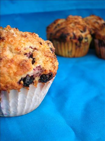 Lemon Crunch Blueberry Muffins. Photo by BestTeenChef