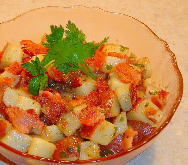 Authentic German Potato Salad. Photo by :(