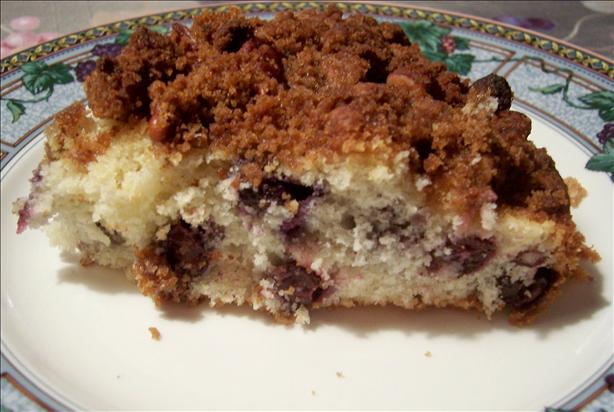 Yummy Pecan Blueberry Coffee Cake. Photo by lazyme
