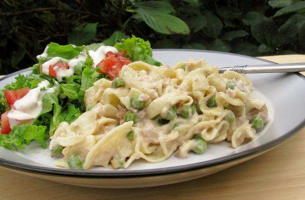 Simple Tuna Noodle Casserole. Photo by lazyme