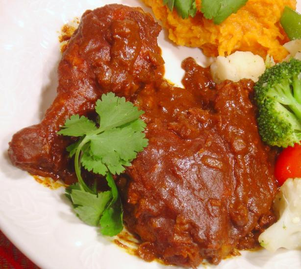 Chicken Vindaloo. Photo by :(