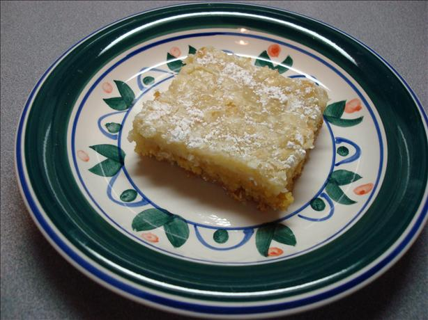 Mrs. Knobbes Gooey Butter Cake. Photo by wwltmom