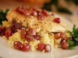 Herbed Chicken with Grapes