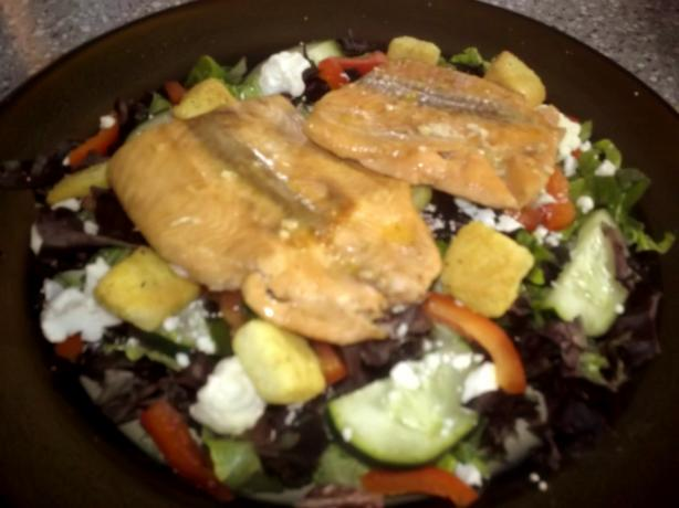 Easy and Delicious Baked Salmon Steaks (Low Carb). Photo by PSU Lioness