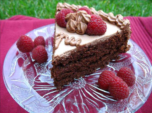 Whole Wheat Raspberry Cake. Photo by ILuvRecipes
