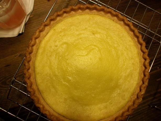 Lemon Yellow Squash Pie. Photo by Cooking Ms. Wanda