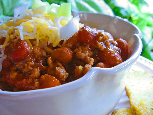 Wendy's Chili. Photo by Bev
