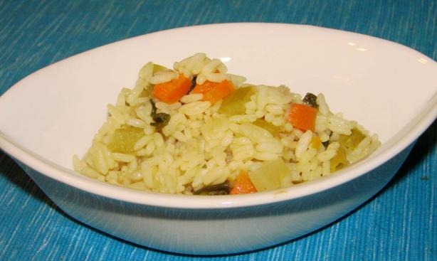 Oven-Cooked Rice Pilaf. Photo by Boomette