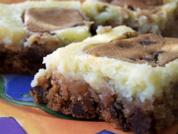 Chocolate Chip Cookie Cream Cheese Bars. Photo by Sherrybeth
