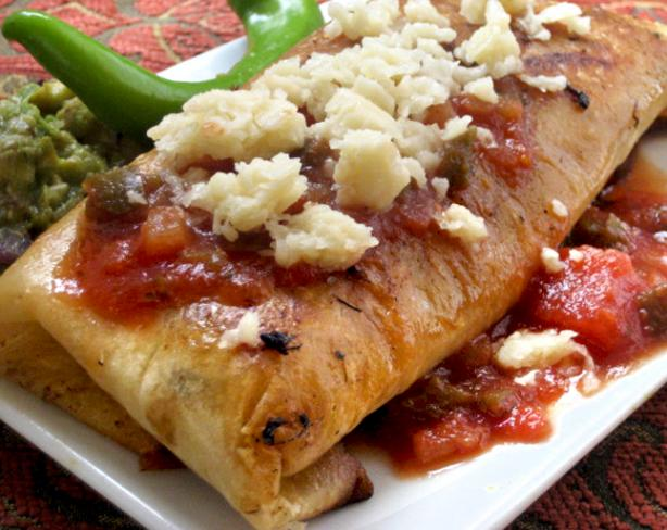 Emeril&#39;s Chicken Chimichangas. Photo by Pneuma