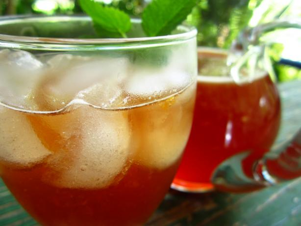 Iced Tea With Grenadine. Photo by gailanng