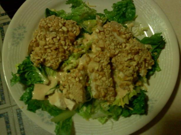 Cashew Crusted Mahi Mahi. Photo by kellsiea