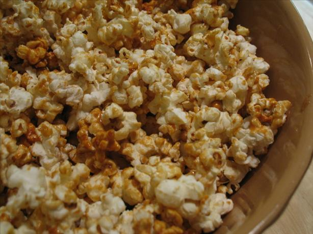 Microwave Caramel Popcorn. Photo by Redsie