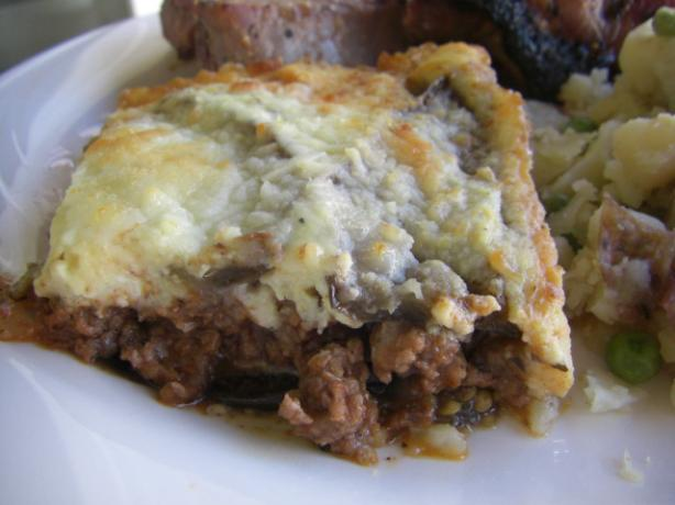 Authentic Greek Moussaka. Photo by puppitypup
