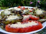 Grilled Green or Red Tomato With Herbs