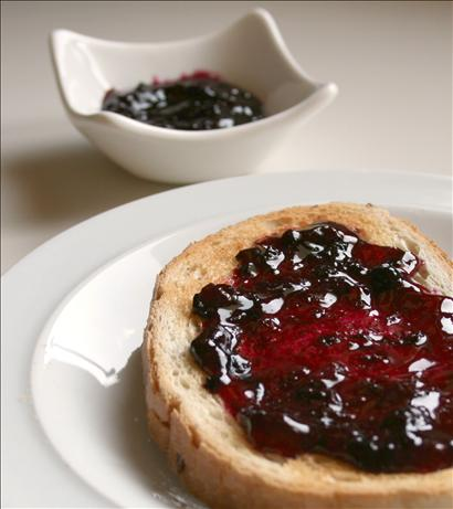 Blueberry Honey Jam. Photo by Cookin-jo