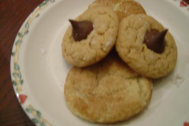 Chocolate Kiss Peanut Butter Cookies. Photo by Linda's Busy Kitchen