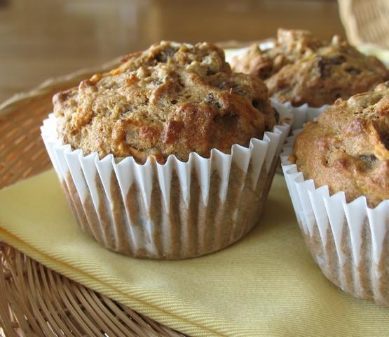 Low Fat Morning Glory Muffins. Photo by Calee