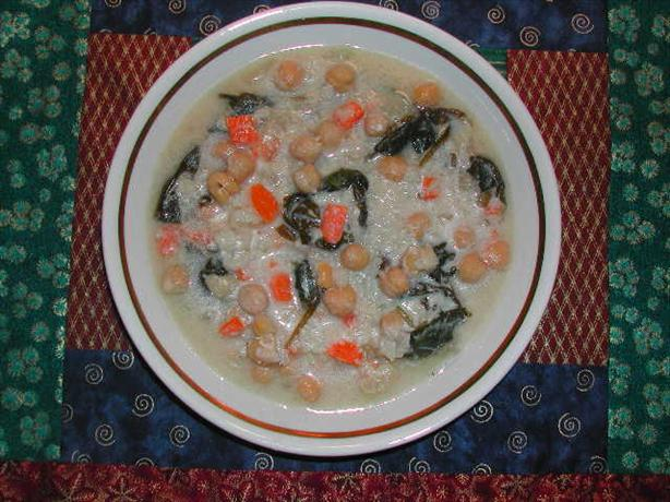 Greek Avgolemono Stew. Photo by Kumquat the Cat's friend