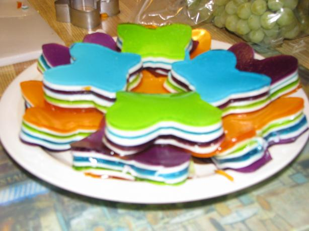 7 Layer Jello. Photo by Ryan &amp; Vanessa