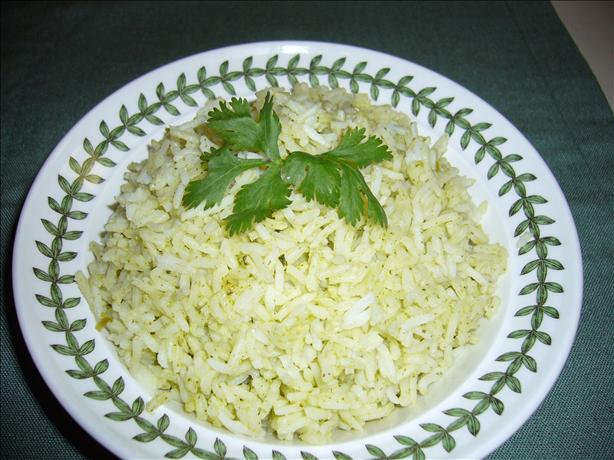 Cilantro Rice. Photo by cookiedog