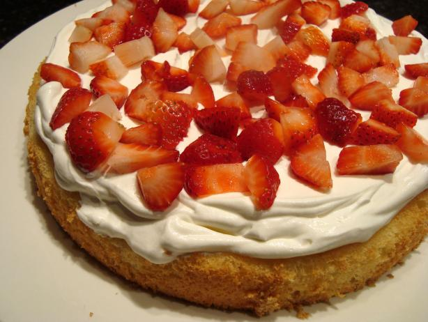 Paula Deen's Strawberry Cream Shortcake. Photo by buttercreambarbie