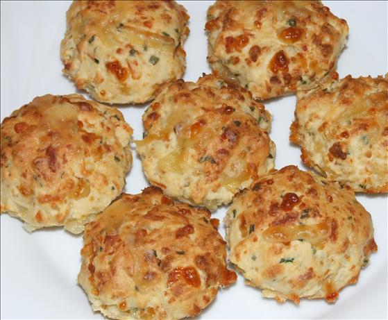 Cheese and Chive Scones. Photo by Peter J