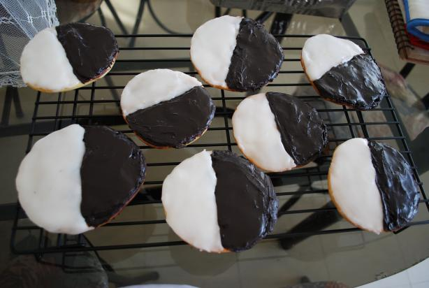 New York City Black and White Cookies. Photo by ladydisdain
