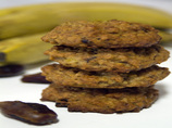 Banana Cookies (With Dates and Nuts)