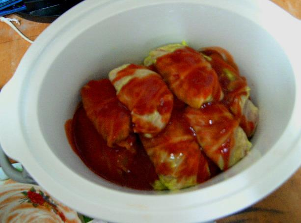 Crock Pot Swedish Cabbage Rolls. Photo by George Clement